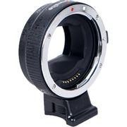 Adaptador-Commlite-de-Montagem-de-Lente-com-Foco-Automatico-Eletronico-para-Lente-Canon-EF-EF-S-em-Cameras-Sony-E-Mount--CM-EF-NEX-B-