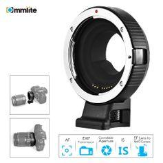Adaptador-de-Lente-Commlite-Lente-Canon-EF-EF-S-para-Cameras-M4-3-com-Foco-Automatico-AF--CM-AEF-MFT-