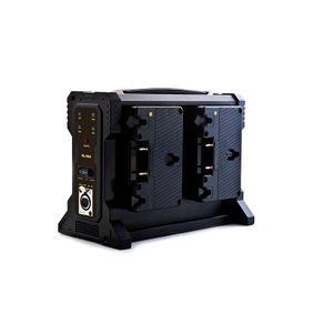 Carregador-Broadcast-RL-4KA-para-4x-Baterias-Anton-Bauer-Gold-Lock-com-Saida-XLR--Bivolt-