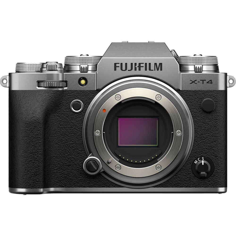 Câmera Digital Fujifilm Mirrorless Corpo Prata 26.0mp - X-t4