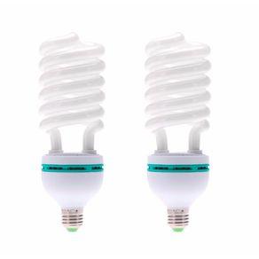 2x-Lampada-Fluorescente-135W-x-220Volts-E27-5500K-Daylight-Luz-Fria-Continua-para-Estudio
