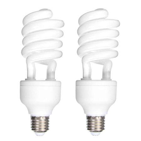 2x-Lampadas-Fluorescente-45W-x-110Volts-E27-5500K-Daylight-Luz-Fria-Continua-CFL-para-Estudio