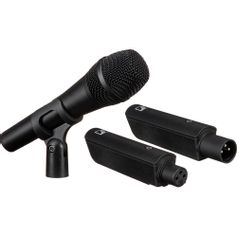 Sistema-Sem-Fio-com-Microfone-de-Mao-Sennheiser-XSW-D-Vocal-Set-Wireless-Digital-XLR--2.4-GHz-
