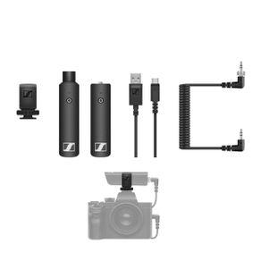 Sistema-Microfone-XLR-Sennheiser-XSW-D-Portable-Interview-Wireless-Digital-com-Montagem-em-Cameras--2.4-GHz