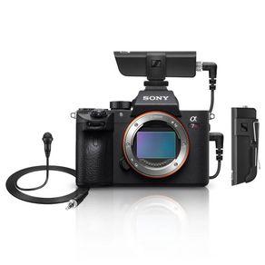 Kit-Sony-a7RIV-Mirrorless-4K-61Mpx--Corpo----Microfone-Lapela-Sennheiser-XSW-D-Wireless-com-Receptor