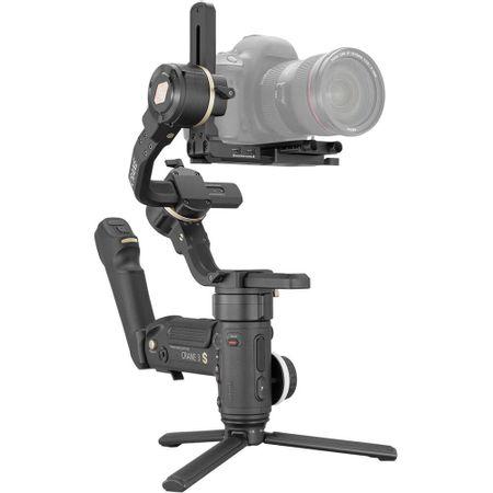 Estabilizador-de-Mao-Gimbal-Crane-3S-Zhiyun-Tech-para-Cameras-DSLR-e-Mirrorless---Crane3S