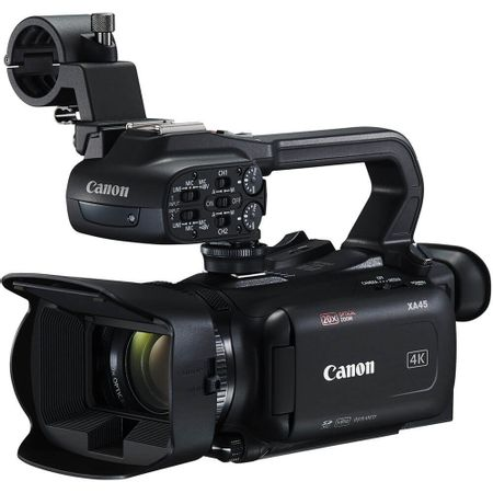 Filmadora-Canon-XA45-UHD-4K-Profissional-Zoom-Optico-20x-HD
