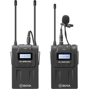 Sistema-Microfone-de-Lapela-Sem-Fio-Boya-BY-WM8-Pro-K1-UHF-Wireless
