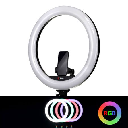 Iluminador-Circular-Led-Ring-Light-Tolifo-19--RGB-60W-Selfie-Profissional--Fonte-Bivolt-