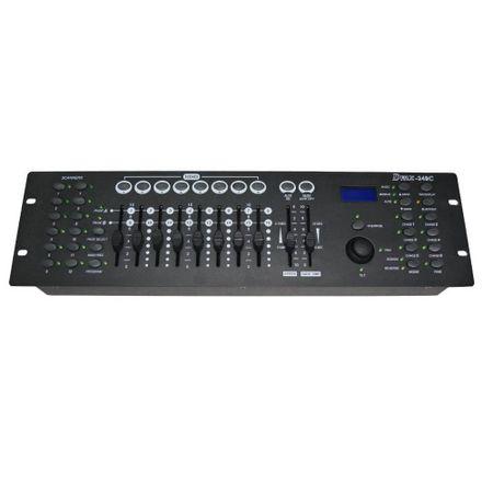 Mesa-Controladora-Iluminacao-DJ-DMX-192-II-com-Joystick-192-Canais-DMX