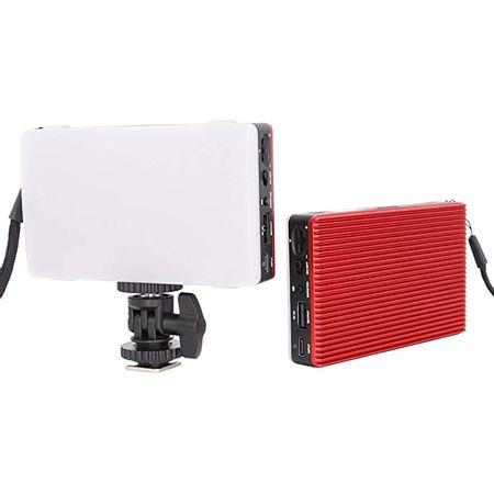 Iluminador-Led-Pocket-Tolifo-HF-96B-Selfie-Video-Light-9W-Ultra-Fino-Bi-Color-com-Bateria-Interna