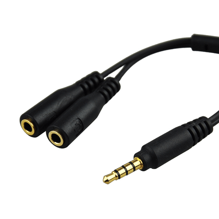 Adaptador-P2-para-P3-3.5mm-Duplo-JJC-SPY1-Microfone-e-Fone-para-SmartPhones--Trs-para-Trss-