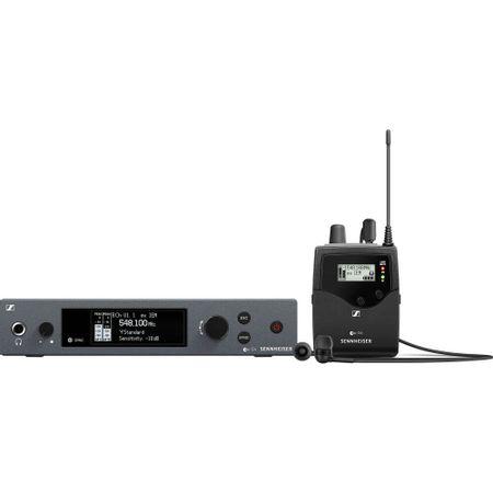 Sistema-de-Monitoramento-Sem-Fio-Sennheiser-EW-IEM-G4-AI-Wireless-com-Fone-IE-4--A1--470-a-516MHz-