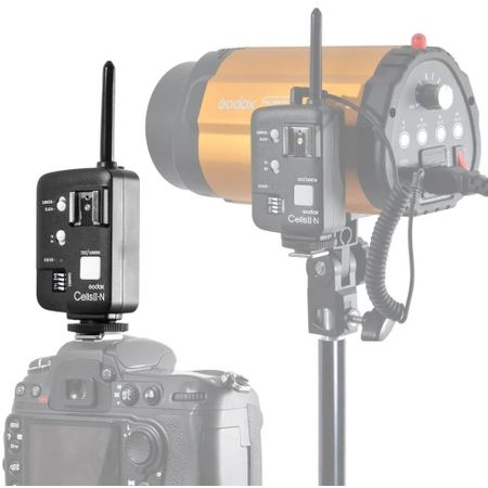 Radio-Flash-Godox-Cells-II-N-Alta-Velocidade-Nikon-i-TTL