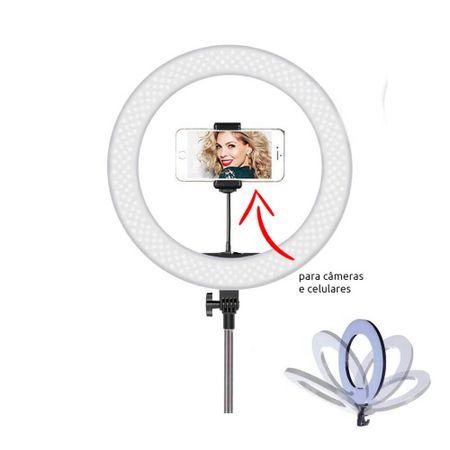 Iluminador-Led-Circular-14--60W-Ring-Light-35cm-com-Controle-e-Fonte-Bivolt