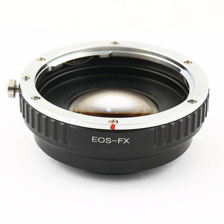 Adaptador-de-Lente-EOS-FX-Speed-Buster-de-Lente-Canon-EF-para-FujiFilm-X-Mirrorless--Foco-Manual-