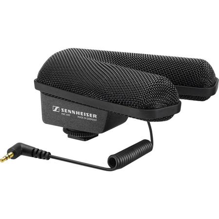Microfone-Shotgun-Estereo-Sennheiser-MKE-440-Compacto-para-Cameras-e-Filmadoras