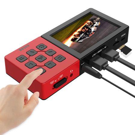 Placa-de-Captura-HDMI-e-Video-Composto-Ez273A-com-Tela-Colorida-3.5-Gamer-Live-Streaming