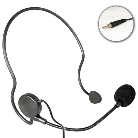 Microfone-Headset-Slim-S4-1-Auriculado-P2-Rosca-Preto