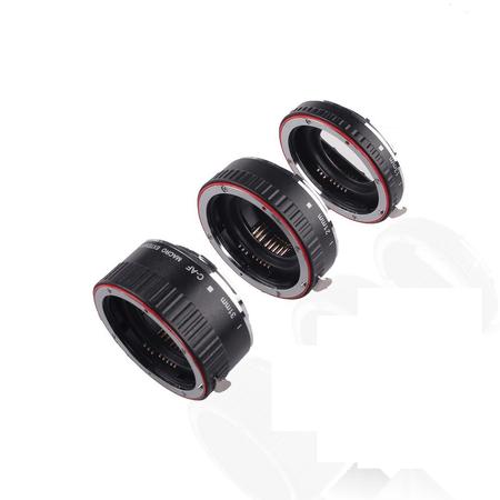 Tubo-Extensor-de-Macro-13mm-21mm-e-31mm-AF-Auto-Foco-para-Canon--MET-C2-