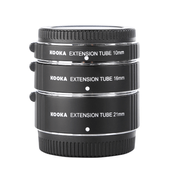 Tubo-Extensor-AF-Macro-10mm-16mm-e-21mm-Close-Up-para-Lentes-M4-3
