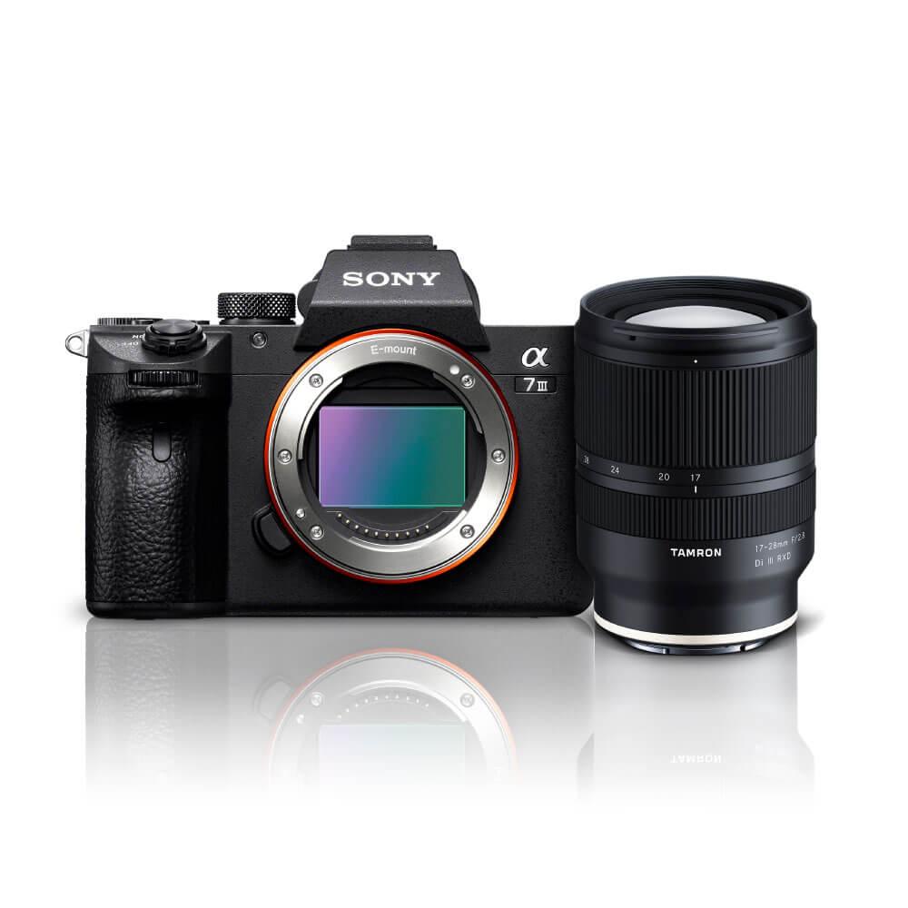 Câmera Digital Sony Alpha Prata 24.2mp - A7 Iii | 17-28mm