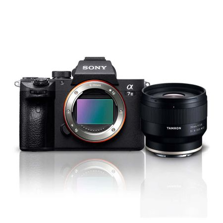 Kit-Sony-a7III-Mirrorless-4k---Lente-Tamron-35mm-f-2.8-Di-III-OSD-M-1-2