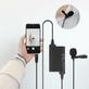 Microfone-Lapela-Universal-LensGo-Dm2-Estudio-e-Entrevista-para-SmartPhones-e-Cameras