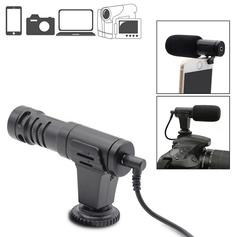 Microfone-Shotgun-Estereo-Mamen-MIC-06-Condensador-HD-Mini-para-Cameras-e-SmartPhones