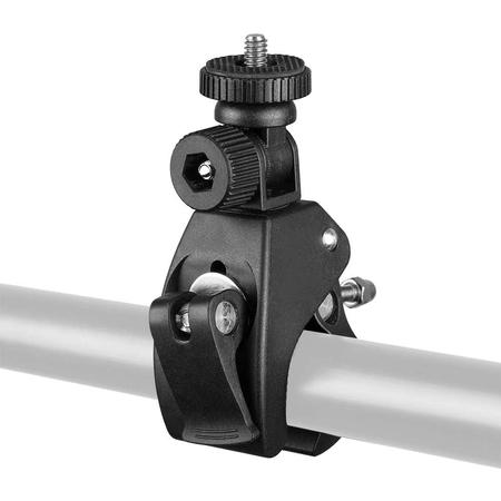Bracadeira-Alicate-de-Barra-Universal-1-4--para-Braco-Magico-Cameras-de-Acao-e-Bicicleta