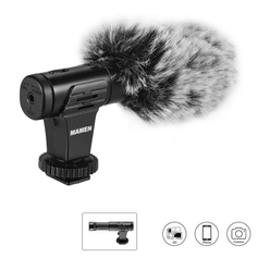 Microfone-Shotgun-Estereo-Mamen-MIC-07-Pro-Super-Cardioide-para-Cameras-e-SmartPhones