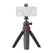 Mini-Tripe-Multifuncional-Portatil-Lensgo-L322-com-Suporte-e-Controle-Remoto-BT-para-Smartphone-e-Cameras