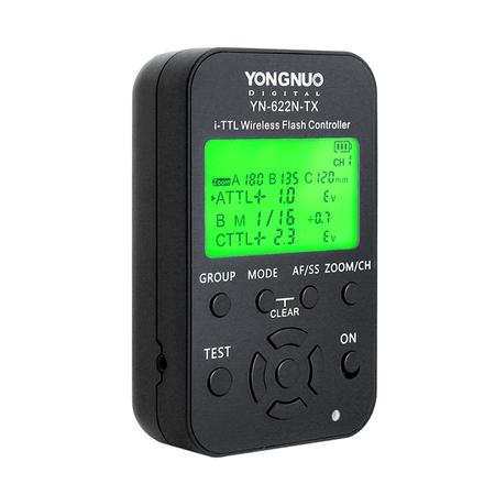 Controlador-Radio-Flash-Yongnuo-YN-622N-TX-i-TTL-Wireless-para-Nikon
