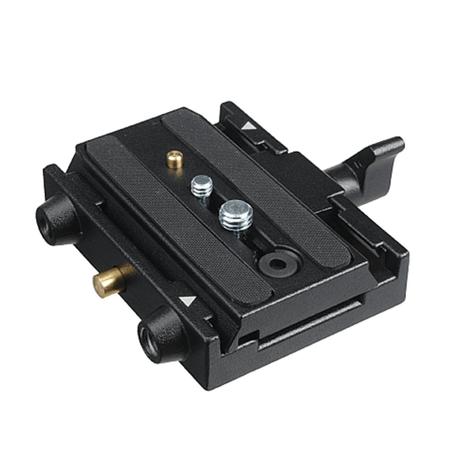 Plate-Manfrotto-577-PL-com-Adaptador-Engate-Rapido-QR--501PL-