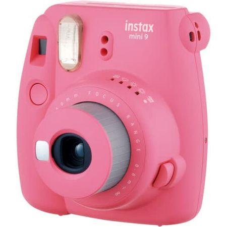 Camera-Instantanea-FujiFilm-Instax-Mini-9-Rosa-Flamingo