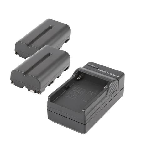 Kit-2x-Baterias-e-Carregador-NP-F550---NP-F570-para-Sony-Monitores-e-Iluminadores-de-Led