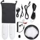 Sistema-Slim-Microfone-Lapela-Sem-Fio-LensGo-318C-Wireless-para-Smartphone-Cameras-e-Filmadoras--Branco-