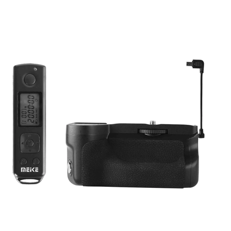 Baterry Grip Meike MK-A6600 Pro com Controle Remoto para Sony a6600