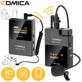 Sistema-Wireless-Digital-Microfone-Duplo-Comica-Audio-BoomX-D-D2-Sem-Fio-Ultra-Compacto-2-Pessoas-para-Cameras-Mirrorless---DSLR--2.4GHz-