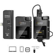 Sistema-Wireless-Digital-Microfone-Duplo-Comica-BoomX-D-MI2-Sem-Fio-Ultra-Compacto-2-Pessoas-para-SmartPhones-IOS--Conector-Lightning-