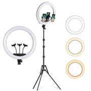 Iluminador-Led-Circular-18--TZ-50W-Ring-Light-Live-46cm-USB-com-Tripe-e-3x-Suportes-SmartPhone