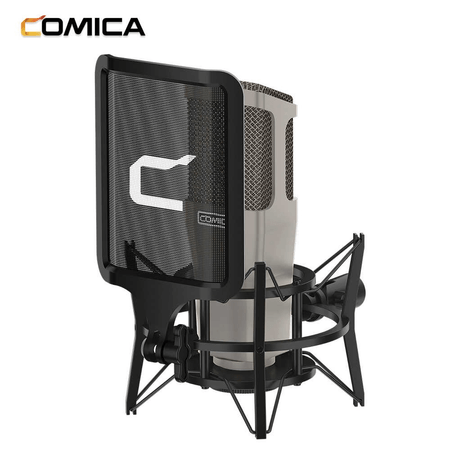 Microfone-de-Estudio-Profissional-Comica-STM01-Cardioide-Condensador-Vocal-XLR