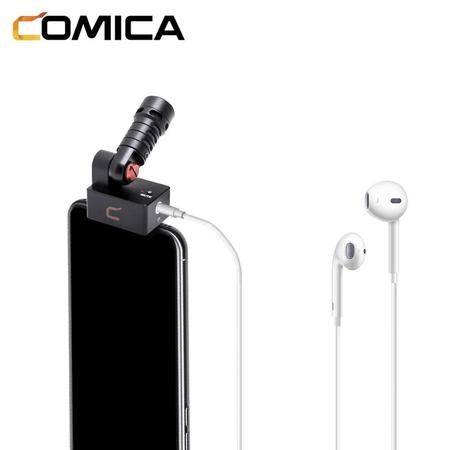 Microfone-Shotgun-para-SmartPhones-IOS-Comica-CVM-VS09-MI-Cardioide-Conector-Lightning-