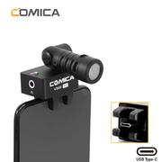 Microfone-Shotgun-para-SmartPhones-Comica-CVM-VS09TC-Cardioide-Android-USB-C