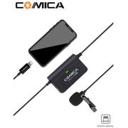 Microfone-Lapela-Comica-Sig.Lav-V05-MI-Omnidirectional-para-SmartPhones-IOS--Lightning-