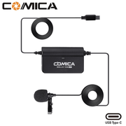Microfone-Lapela-Comica-Sig.Lav-V05-UC-Omnidirectional-para-SmartPhones-Android--USB-Type-C-