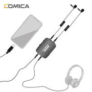 Microfone-Lapela-Duplo-Profissional-Comica-Dual.Lav-D03-STC-Condensador-TRss-3.5mm--USB-C-para-Cameras-e-SmartPhones