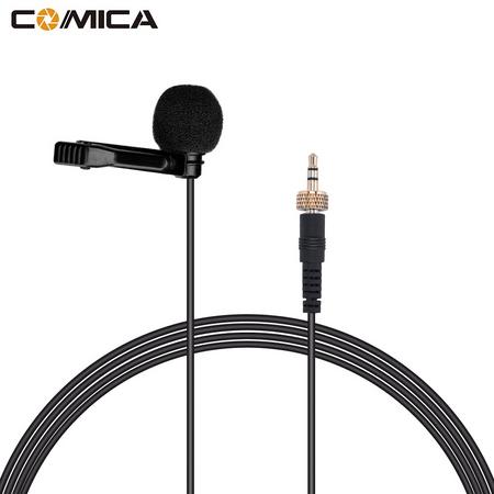 Microfone-de-Lapela-Comica-CVM-M-C1-Cardioide-para-Transmissores-Sennheiser-e-Comica-