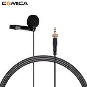 Microfone-de-Lapela-Comica-CVM-M-O1-Omnidirectional-para-Transmissores-Sennheiser-e-Comica