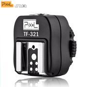 Sapata-Adaptadora-E-TTL-Pixel-TF-321-Sincronizacao-PC-Sync-para-Canon